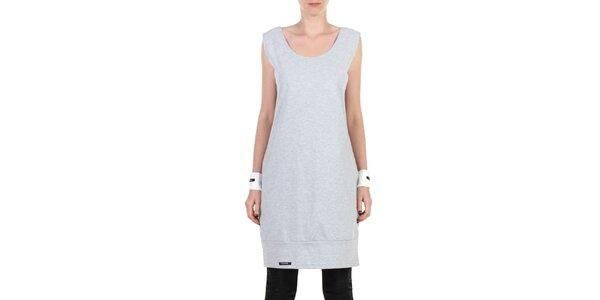 Dámské šedé sportovní šaty Yuliya Babich