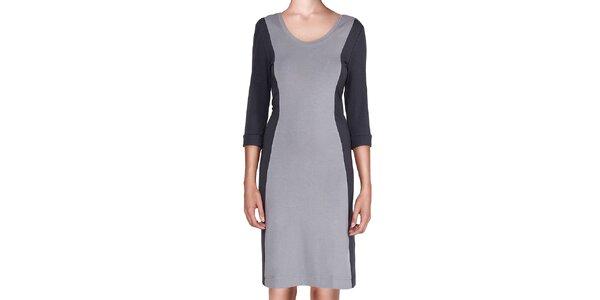 Dámské šedo-černé šaty Yuliya Babich