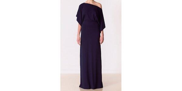 Dámské temně modré večerní šaty Yuliya Babich