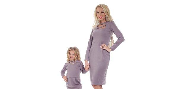 Dámské fialové šaty Berry Couture