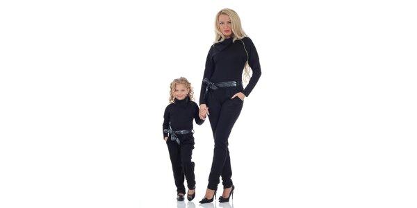Dámský černý overal Berry Couture