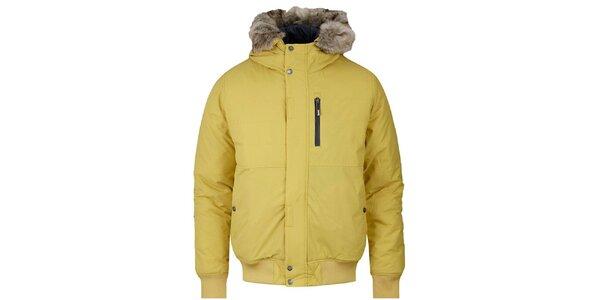 Pánská žlutá zimní bunda Bench