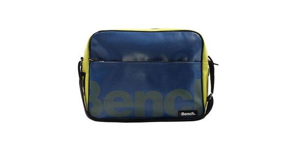 Modro-žlutá taška přes rameno Bench