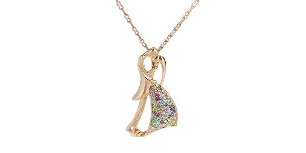 Dámský náhrdelník se zamilovanou dvojicí Fifi Ange