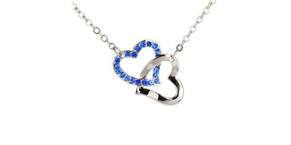 Dámský náhrdelník se srdíčky Fifi Ange