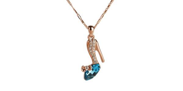 Dámský náhrdelník s botičkou Fifi Ange