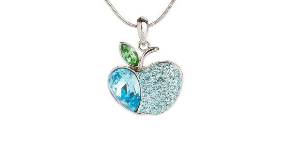 Dámský náhrdelník s modrým jablíčkem Fifi Ange