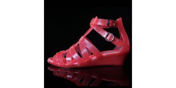 Dámské korálové sandálky Melissa