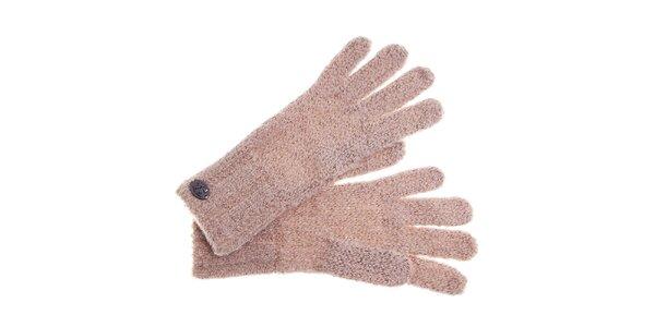 Dámské krémové rukavice Pietro Filipi