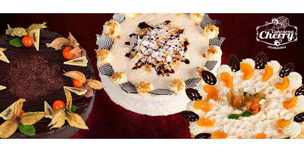 Náramně dobré dorty z oblíbené Cukrárny Cherry