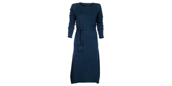 Dámské tyrkysové šaty Pietro Filipi