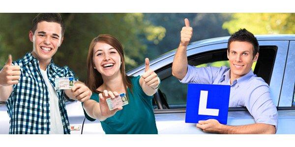 Rezervace kurzu k získání řidičského průkazu sk. B
