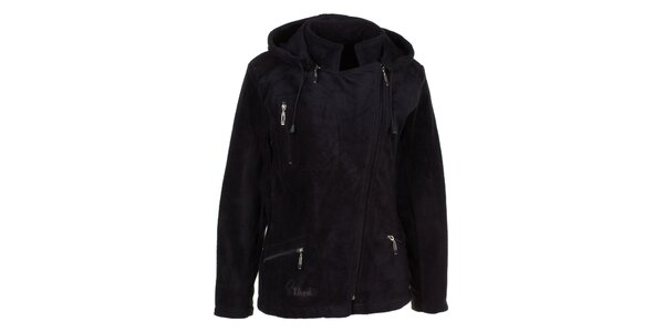 Dámská černá fleecová bunda Utopik