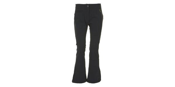 Dámské černé lyžařské kalhoty E2KO