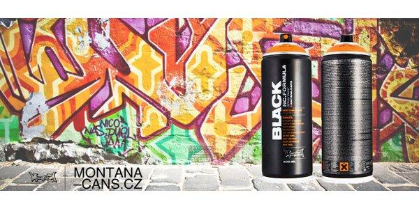 Dekorační barevné spreje Montana Cans