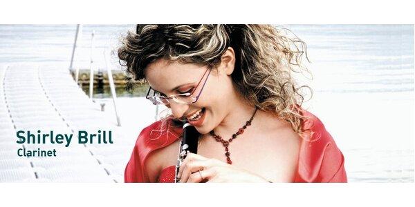 Proslulá izraelská klarinetistka Shirley Brill vystoupí s Janáčkovou…