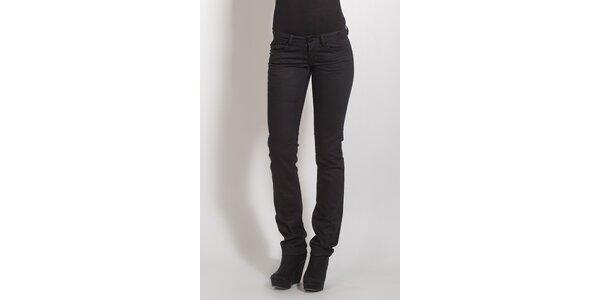Dámské černé kalhoty Phard s kamínky