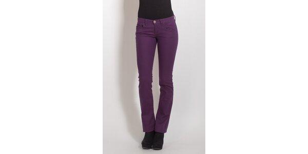 Dámské fialové kalhoty Phard