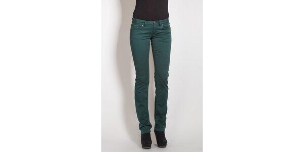 Temně zelené kalhoty Phard