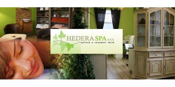 249 Kč za relaxační proceduru v bylinné parní lázni a masáž hlavy.