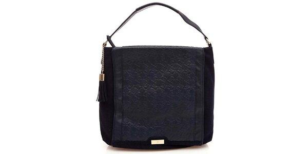 Dámská temně modrá taška Paris Hilton