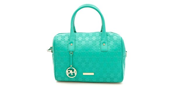 Dámská tyrkysová kufříková kabelka Paris Hilton