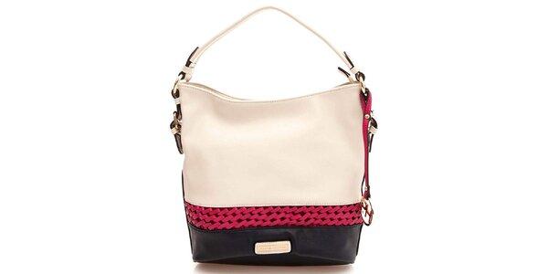 Dámská kabelka s jedním uchem v barvě slonové kosti Paris Hilton