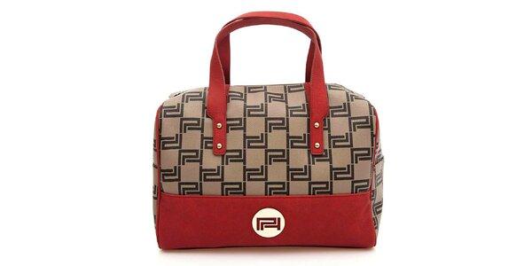 Dámská kabelka s červenými prvky Paris Hilton