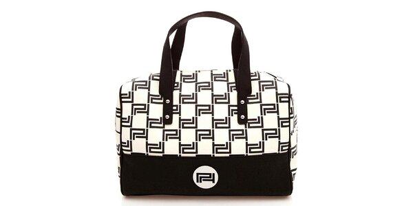 Dámská černobílá kabelka Paris Hilton