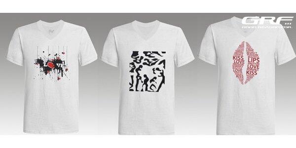 Unisex trička GOODREASONFOR - na výběr 3 motivy