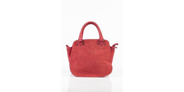 Dámská tmavě růžová kabelka Fuchsia