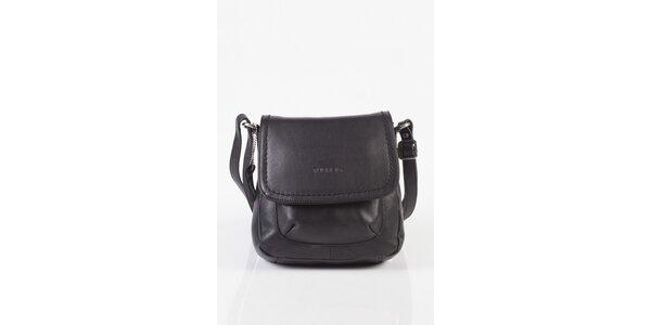 Malá dámská černá kabelka Fuchsia