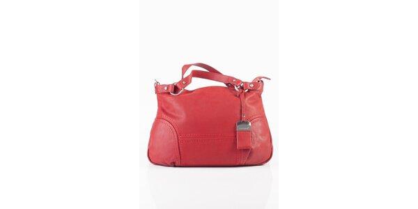 Dámská červená kabelka Fuchsia
