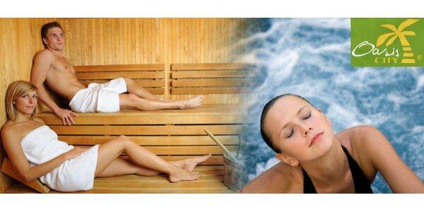 149 Kč za saunu, parní lázeň nebo perličkovou koupel. Sleva 66 %.