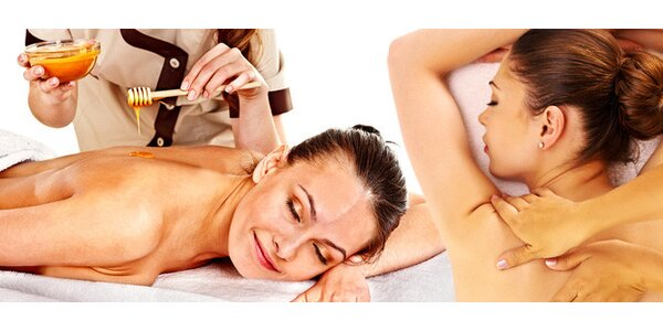 Blahodárná uvolňující hodinová masáž