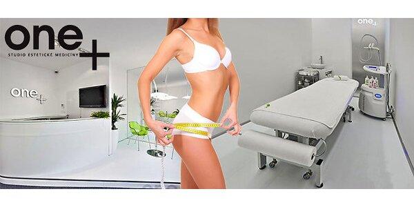 Kryoradiolipolýza - odstranění tukových buněk- jedna partie 90 minut