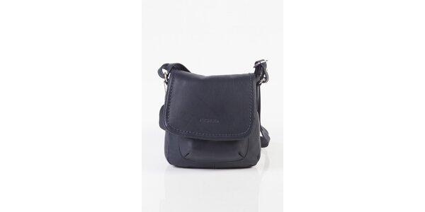 Malá dámská temně modrá kabelka Fuchsia