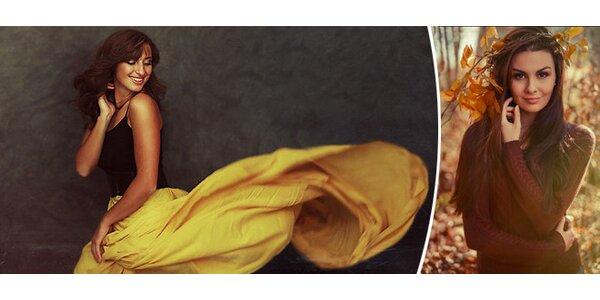 Portrétní a glamour fotografování