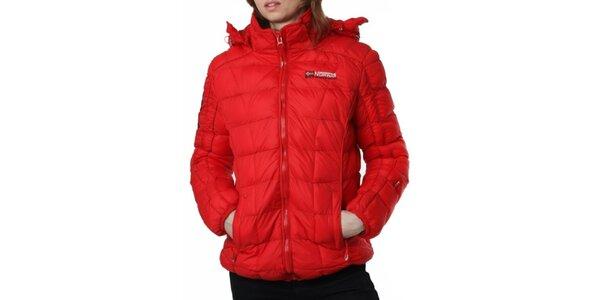 Dámská červená prošívaná bunda Geographical Norway
