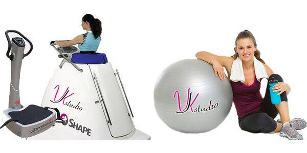 30, 60 nebo 90denní vstup na vacushape a vibrostation + 10 minut rozehřátí na…