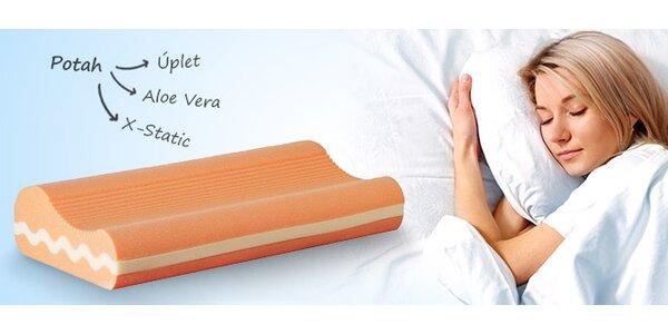 Anatomický polštář z líné pěny pro zdravý spánek