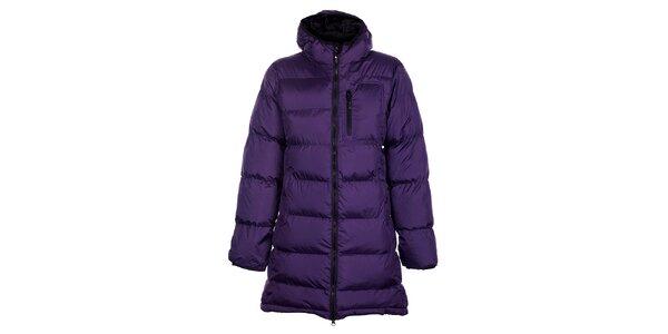 Dámský fialový zimní prošívaný kabátek Fundango