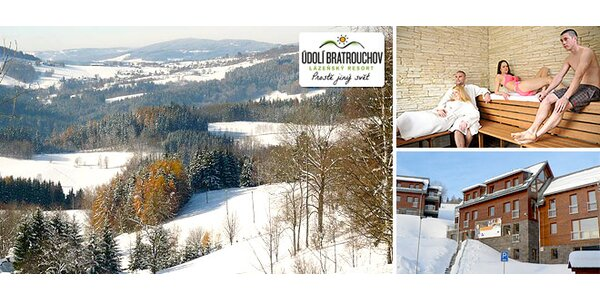 3 dny pro dva v lázeňském resortu v Krkonoších