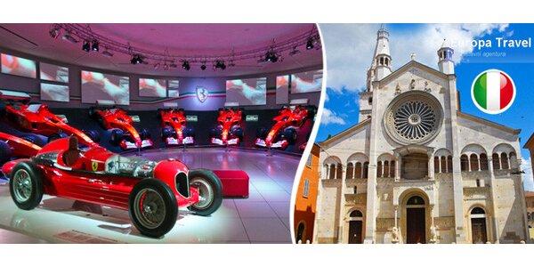 Do Itálie za historií legendárních vozů Ferrari