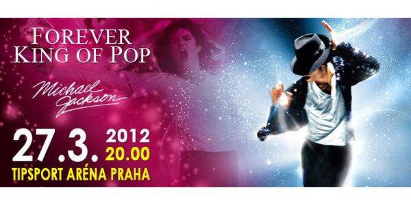 Lístek na Forever King of Pop - The Michael Jackson Show