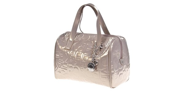 Dámská lesklá kabelka se vzorem Calvin Klein