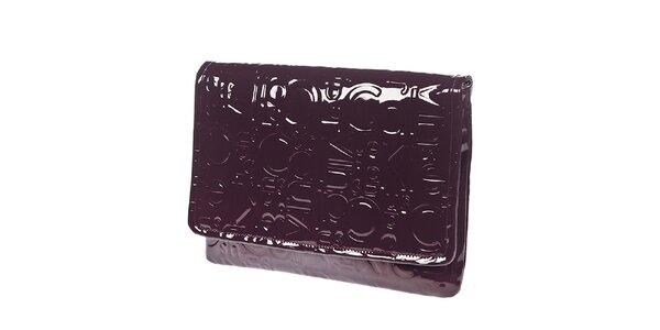 Dámská lesklá kabelka do ruky Calvin Klein