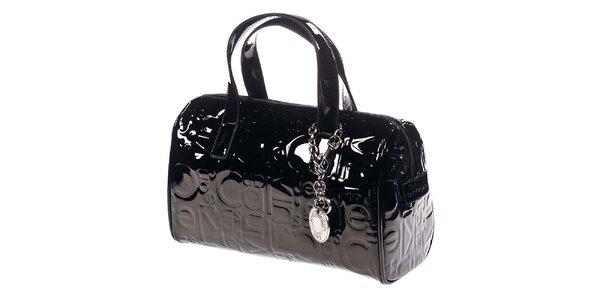 Dámská černá kabelka se vzorem Calvin Klein