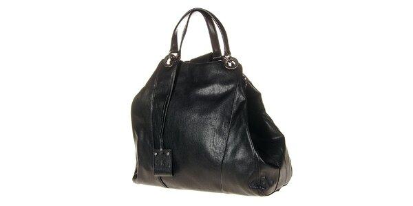 Dámská černá kabelka s pevnými uchy Calvin Klein