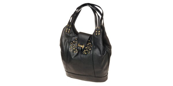 Dámská černá kabelka s druky a cvočky Calvin Klein